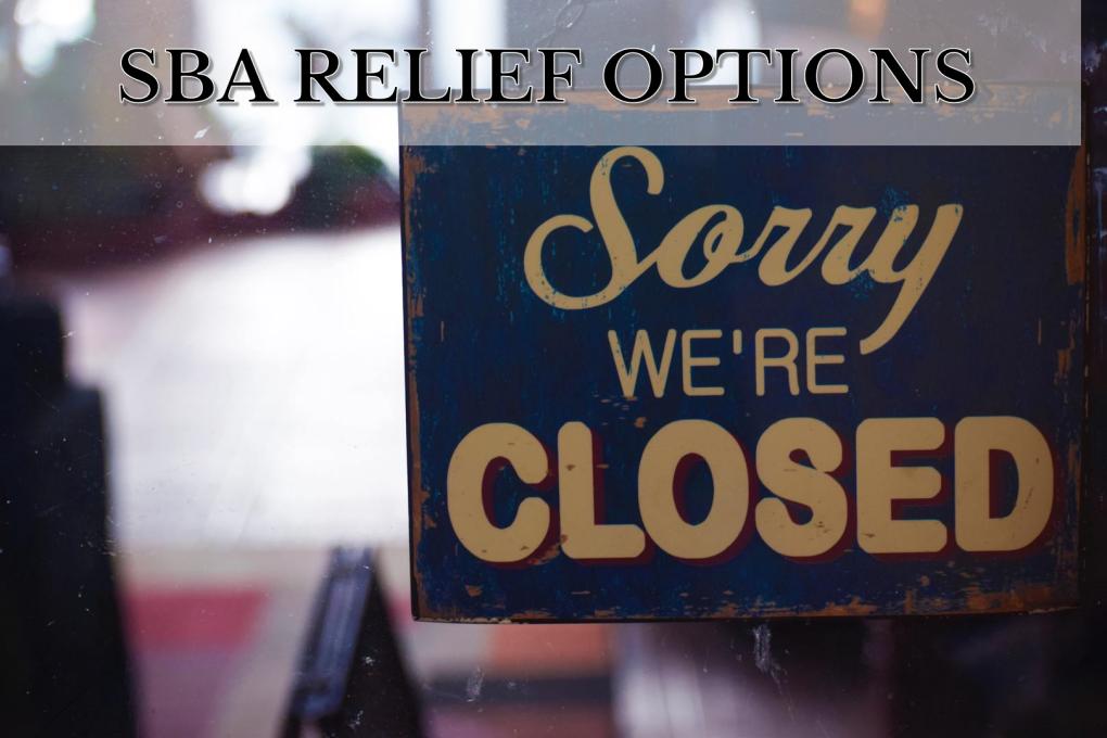 Coronoa Virus SBA Relief